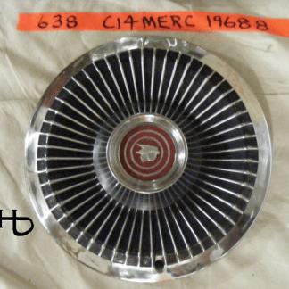front view of hubcap # c14merc1968_8