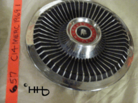 profile view of hubcap # c14merc1969_1