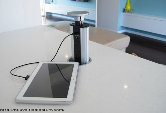 pop up outlets for kitchen kitchens on clearance best power stations the counter tops