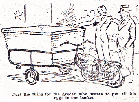 Page 59. 1934 Excelsior Tradesmen's 3-Wheeler with Manxman