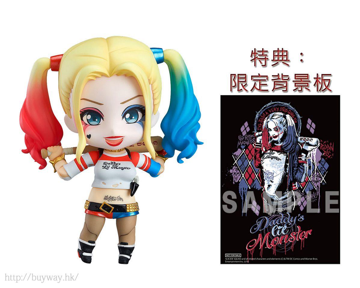 DC漫畫 : 日版 「桂·哈蕾 / 小丑女」Q版 黏土人 (特典︰限定背景) : buyway.hk