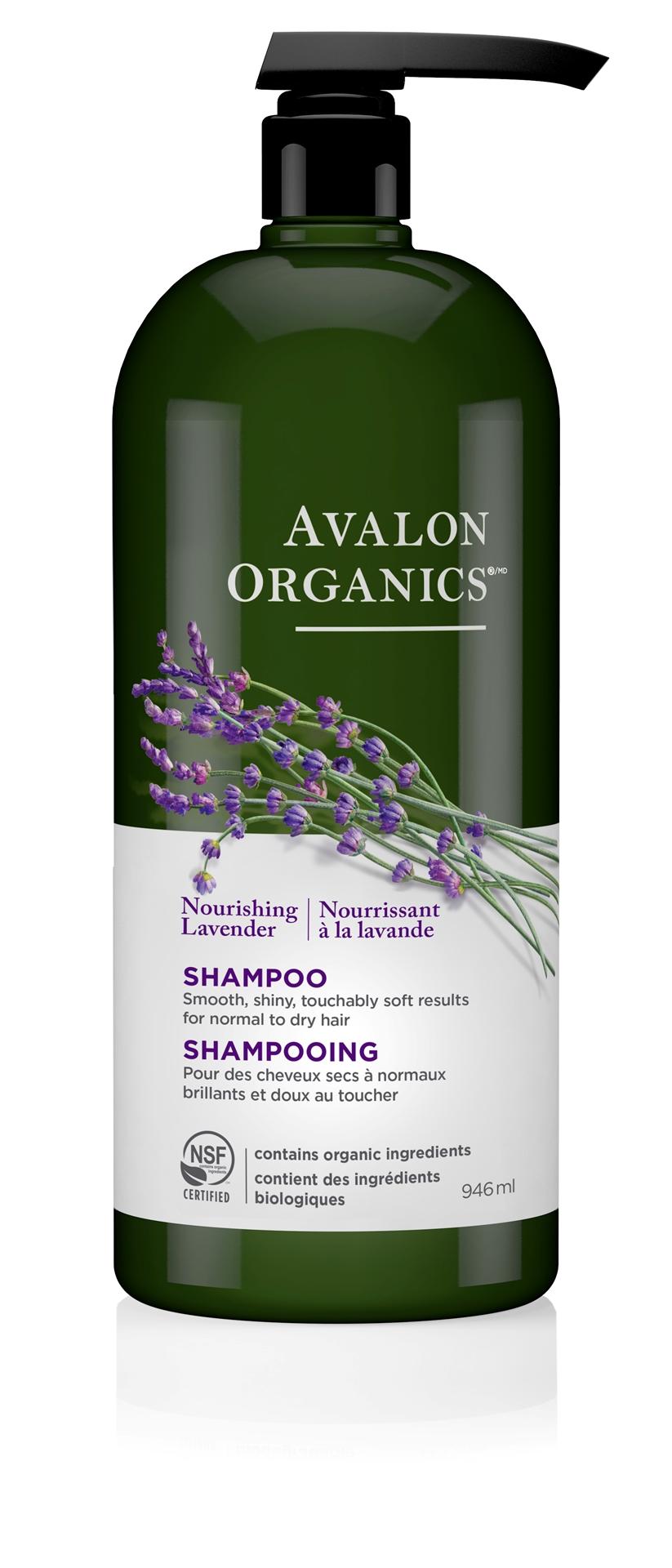 Avalon Organics Nourishing Shampoo, Lavender 946ml   BuyWell.com - Canada's online vitamin, beauty & health store.