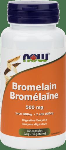 NOW Foods Bromelain 500mg 2400 GDU/g | BuyWell.com ...