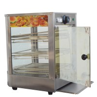 Egg Tart&Pizza Food Display Warmer 110V Cabinet Commercial ...