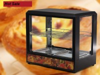 Food Pizza Warmer Display Cabinet Acrylic Case for ...