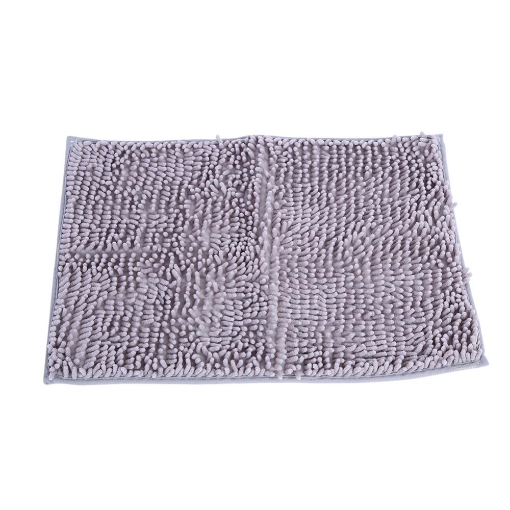 Nonslip Microfiber Shag Bathroom Rugs Bath Mats Shower Rug Dark Gray 615311273885  eBay