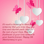 5th Wedding Anniversary Quotes For Wife Facebook
