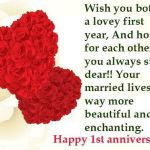 First Anniversary Greetings Pinterest