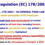 General Food Law: Food Businesses And The Law