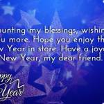 Happy New Year Wishes Best Friend Facebook