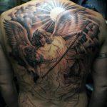 Remarkable Angel Tattoos For Men