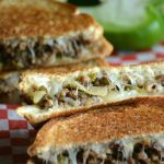 Steak & Onion Grilled Cheese