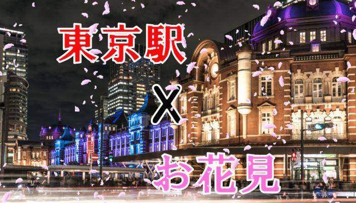 2019年東京駅周辺のお花見穴場スポット情報をお届け!仕事帰りにちょっと足を延ばすならここ!