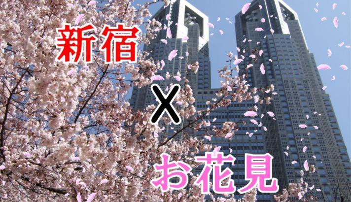 2019年新宿周辺のお花見穴場スポット情報をお届け!大混雑を避ける方法も。