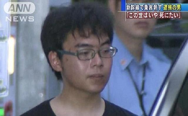 東海道新幹線でナタによる無差別殺人が発生。犯人は22歳の小島一朗容疑者。勇敢に立ち向かわれた梅田耕太郎さんにご冥福をお祈り申し上げます。
