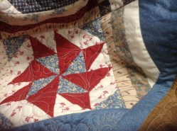 Quilting using embroidery machine!