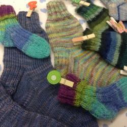 Socks and more socks ...