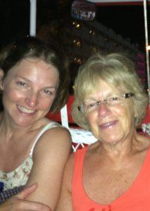Buzymum - Mum and I enjoying a ride in a horse drawn carriage