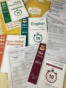 Buzymum - 11+ revision books and papers