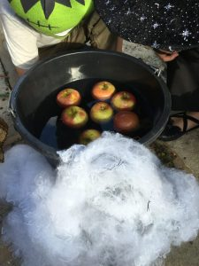 Buzymum - Apple Bobbing for Halloween