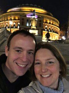 Buzymum - Royal Albert Hall Selfie!