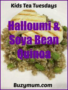 Buzymum - Halloumi & Soya Bean Quinoa