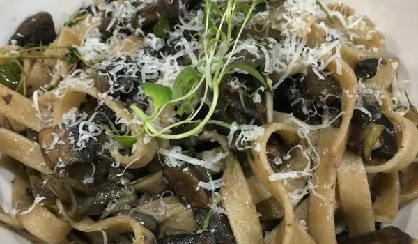 Mushroom & Thyme Tagliatelle