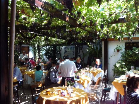 Buzymum - Beautiful restaurant setting in Santa Cruz