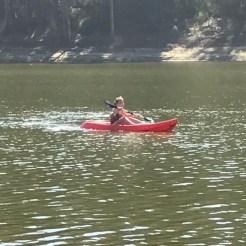 Buzymum - Kayaking on the lake in Chile