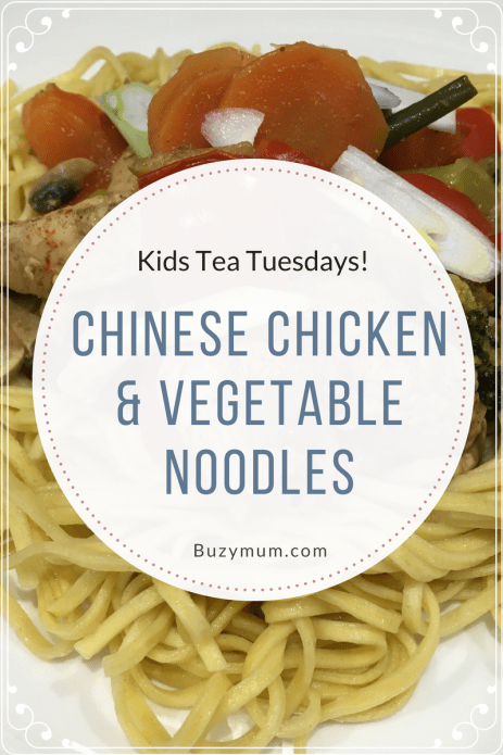 This recipe is quick, cheap and easy, making a piece of chicken go a long way! The chinese flavours are easy to achieve and make it a great mid week, family meal!