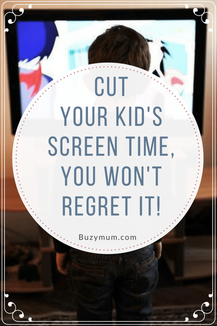 Buzymum - How to limit your child's screen time. How we did it and how we feel it has benefited our children aged 6,8 and 11.