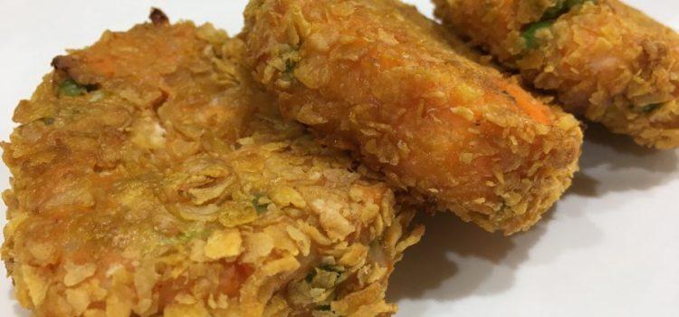 Easy Salmon and Sweet Potato Fishcakes