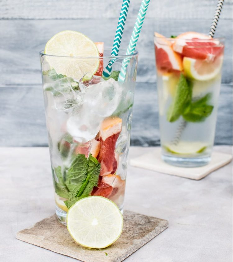 Jazz up your water with a squeeze of fruit juice and/ or herbs. Drinking water for weight loss has got to be the easiest, cheapest change that you can make to help you lose weight forever.