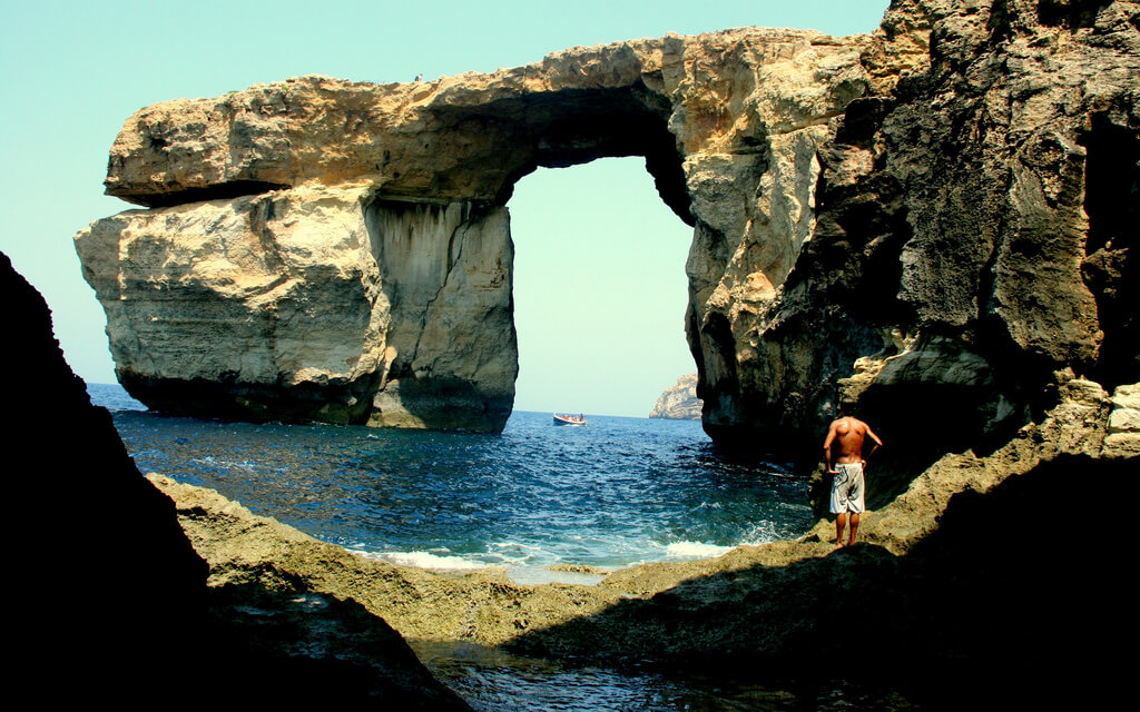 Azure Window Image Source: Flickr/joykiks