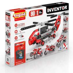 Engino – Inventor 90 Models Motorized Set - Price: €77