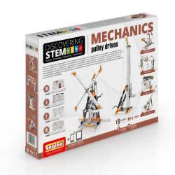 Engino – STEM MECHANICS: Pulley drives - Price: €35