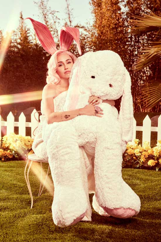 Miley Cyrus Easter Bunny Photoshoot (1)