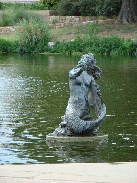 sea monster statue to see