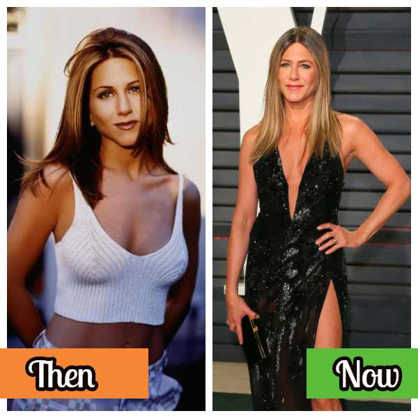 Jennifer Aniston celebrity photos before and after