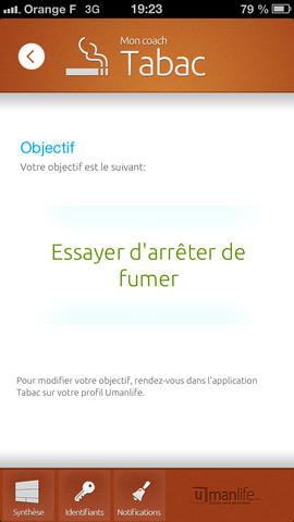 Umanlife lance l'application mobile Tabac