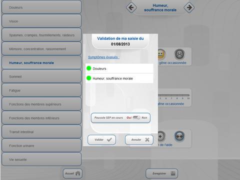 SAM SEP : application mobile pour les patients atteints de Sclérose En Plaques