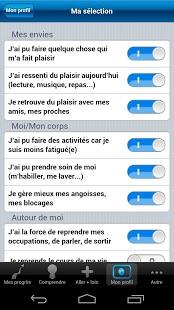 Happli Day : application mobile pour patient dépressif
