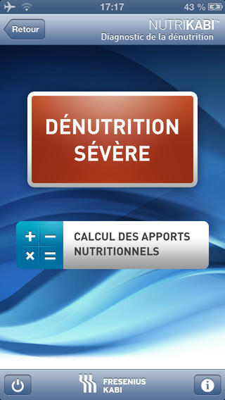 NutriKabi : application dédiée à la nutrition clinique