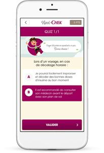 Novi-chek : application pour jeune diabétique