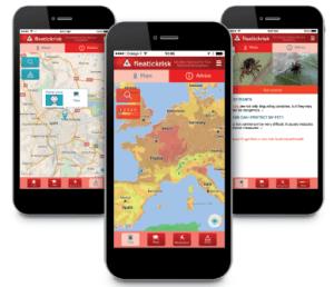 Application mobile Fleatickrisk