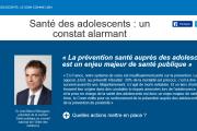 Le CNOM lance un Webzine Santé des adolescents