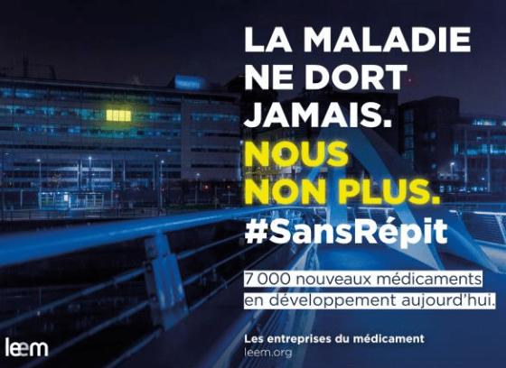 Campagne du Leem : #SansRépit
