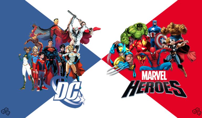 DC ve Marvel 'in Karakterleri Birbirinden Arakladığının Kanıtı 23 Görsel