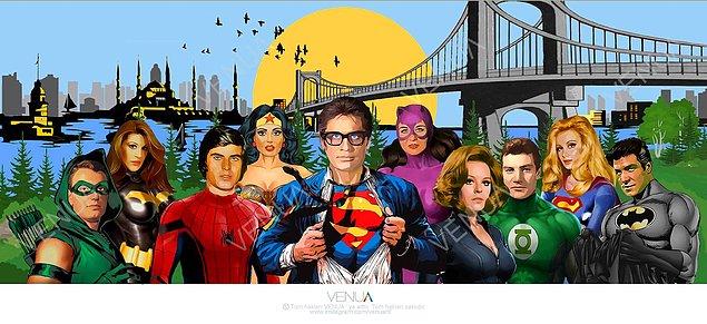 Unutulmaz Yeşilçam Karakterleri il Süperçam Serisi