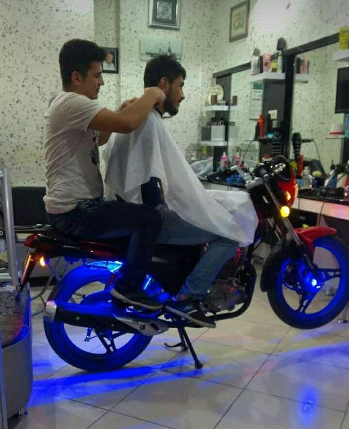 Motosikletli Berber